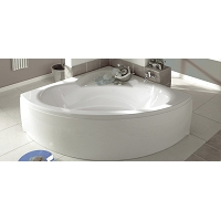 [AQUARINE] COLLECTION ANGLE BAIGNOIRE 140X140 + TABLIER