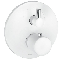[KLUDI] BALANCE WHITE MITIGEUR THERMOSTATIQUE A ENCASTRER 2 SORTIES Ø170MM